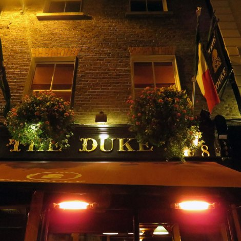 Dublin's Literary Pub Tour: The Duke Pub