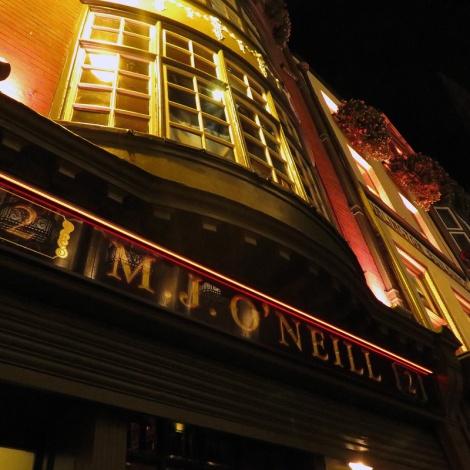 Dublin's Literary Pub Tour: O'Neill's