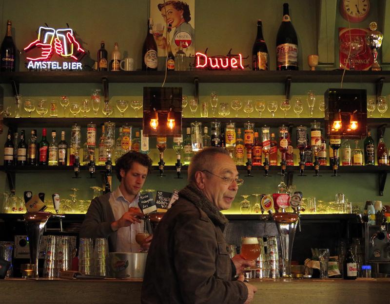 The Ledig Erf Pub in Utrecht, Holland