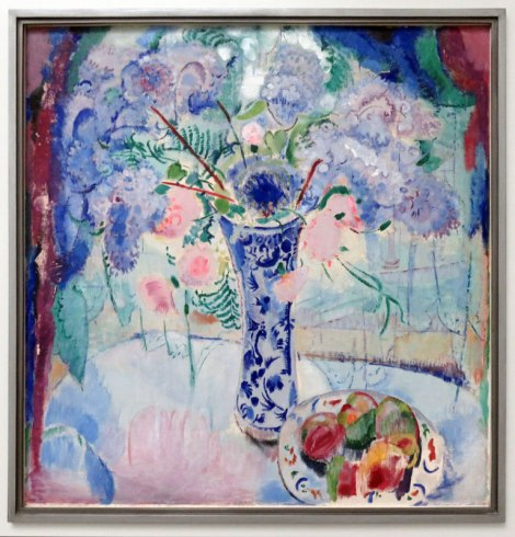 Painting of Delft Vase by Dutch artist Jan Sluijters