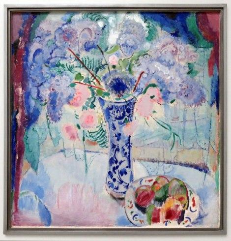 Painting of Delft Vase by Dutch artist Jan Sluijters