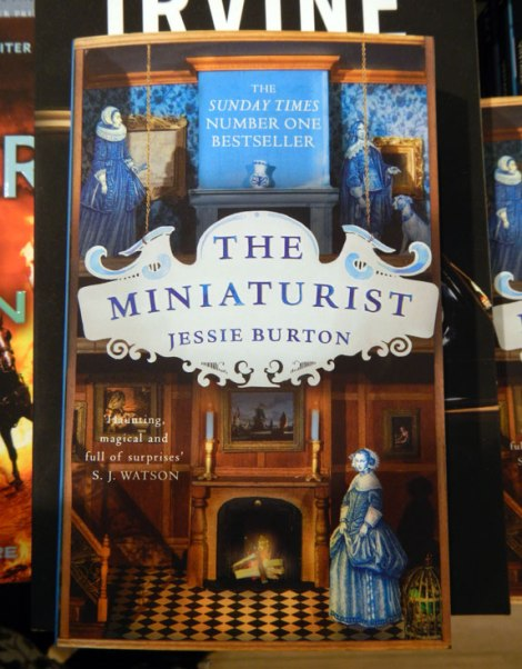 Novel about Amsterdam in 1686, The Miniaturist by Jessie Burton