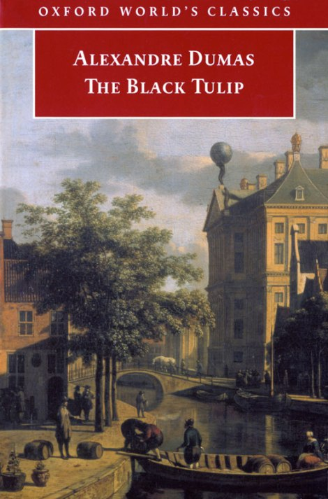 The Black Tulip, a novel by Dumas