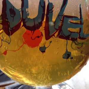 A Duval beer at Heen & Weer Pub in Utrecht