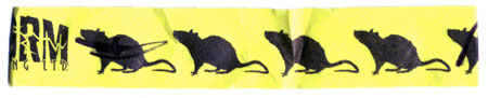Rat Wristband from Storm Brewing