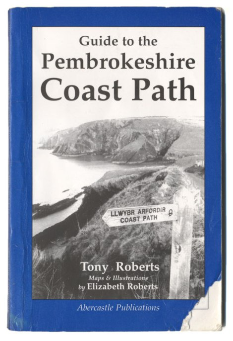 Walking Book for the Pembrokeshire Path in Wales
