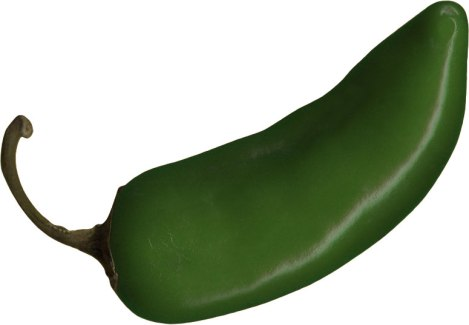 Green Jalapeño chile