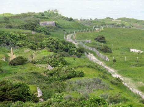 Trail to Cap Blanc Nez in France