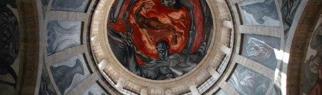 Orozco's painted ceilings