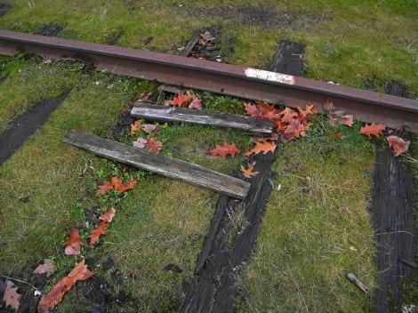 Eastside railroad tracks