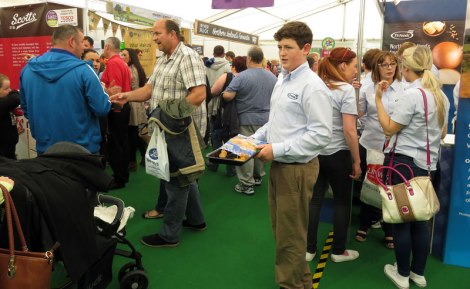 Belfast Food Fair: free samples