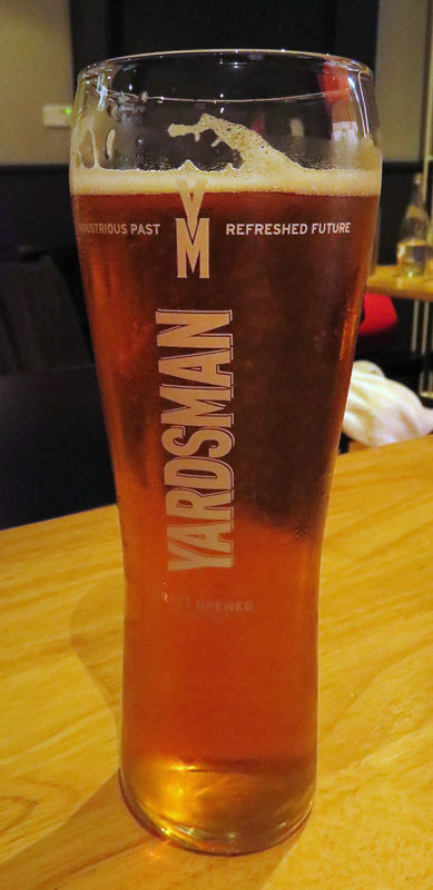 Beer at Hadskis Restaurant in Belfast