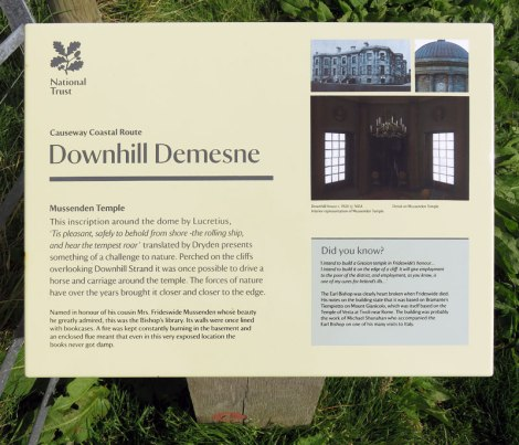 Notes on Downhill Demesne in Northern Ireland, UK