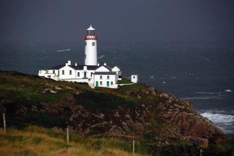 The lighthouse on Fanad Head, Ireland