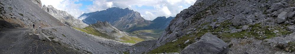 Panorama of the Picos de Europa