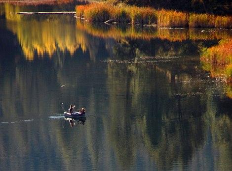 lake in the hills above Merritt, BC