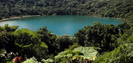 Crater Lake at the Arenal Volcano