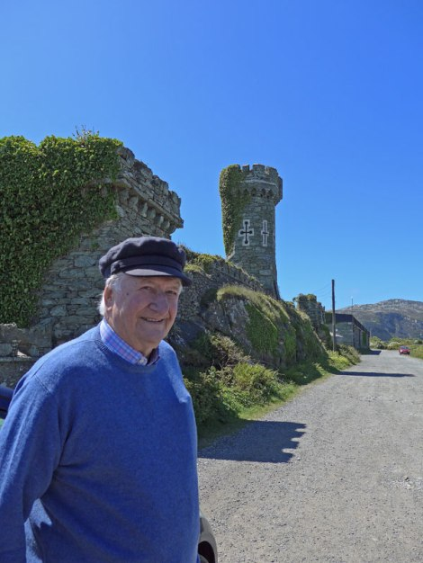 The old gentleman who used to live in the 'castle' (Anglesey, Wales)