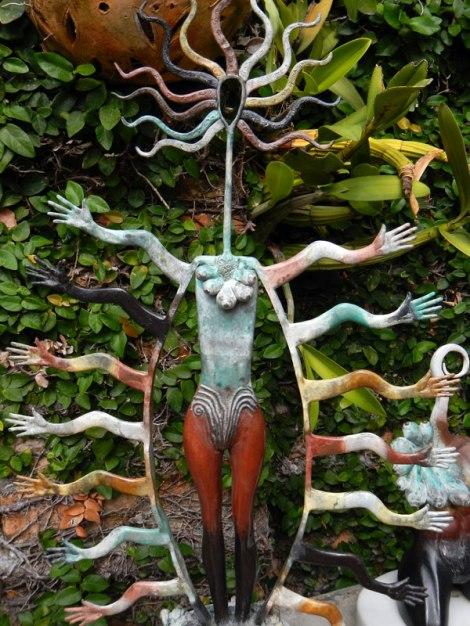 A sculpture seen during Puerto Vallarta's Art Walk