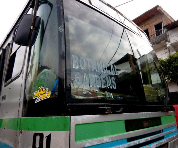 Bus to the Puerto Vallarta Botanical Garden