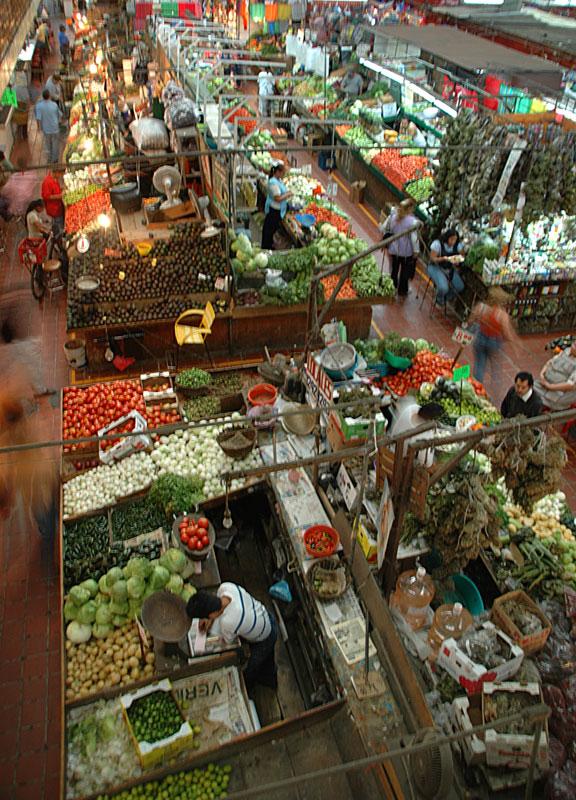 Mercado de Libertad, the farmer's market in Guadalajara