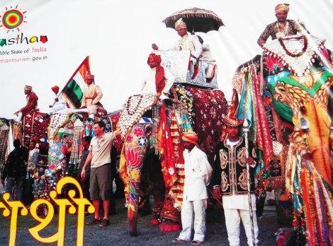 Poster for the Jaipur Elephant Festival