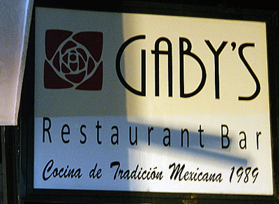 Gaby's in Puerto Vallarta