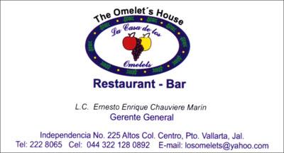 The Omelet's House Restaurant-Bar in Puerto Vallarta