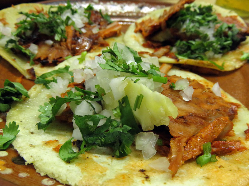 Panchos Takos in Puerto Vallarta: tacos pastor