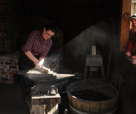 Fort Langley Blacksmith