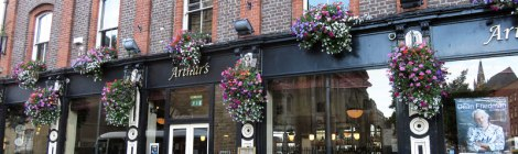 Authur's Pub in Dublin, Ireland