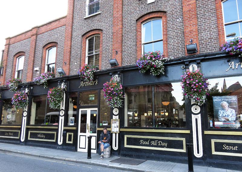 Authur's Pub in Dublin, Ireland