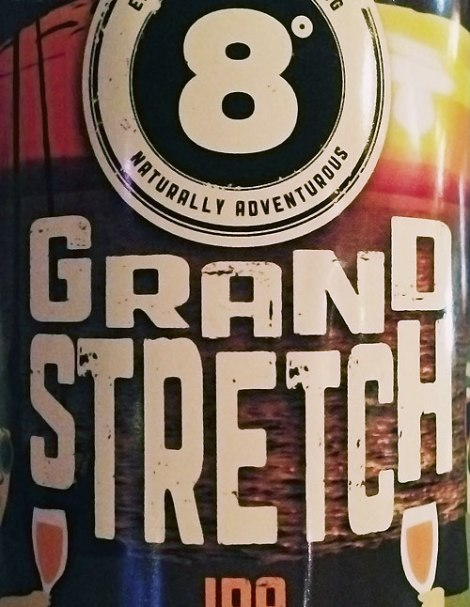 8° Grand Stretch IPA beer at the Porterhouse Temple Bar, a brewpub in Dublin Ireland