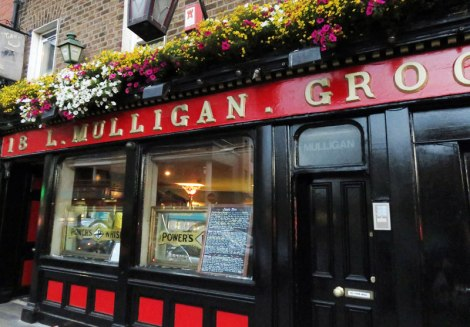 L Mulligan Grocer, a craft beer pub we visited on our first full day in Dublin, Ireland