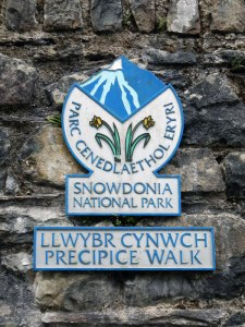 Precipice Walk Sign