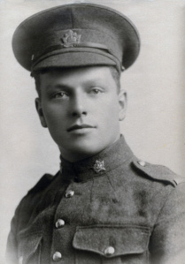 Granddad in 1914, part of the 28th Battalion, Regina Rifles