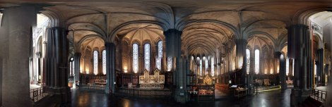 Lille Cathedral: a Disjointed Panorama