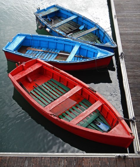 Luarca Fishing Boats
