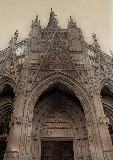 Rouen Cathedral Exterior