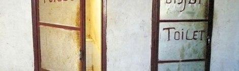 Toilets in Laos
