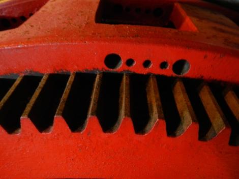 Steveston Cannery: Red Gears