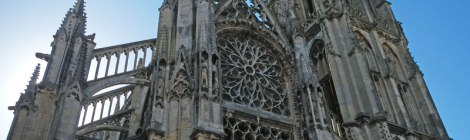 The Cathedral in Dieppe, France