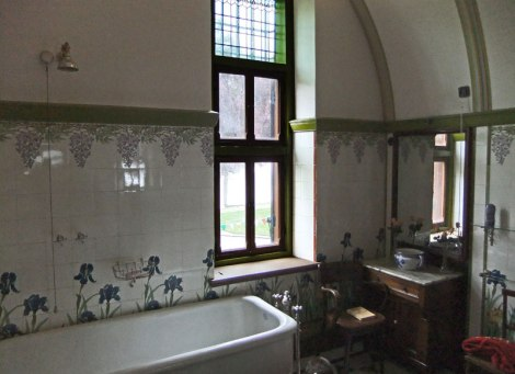 Bathroom in Kasteel de Haar near Utrecht in Holland