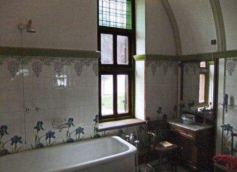 Bathroom in Kasteel de Haar near Utrecht in Holland