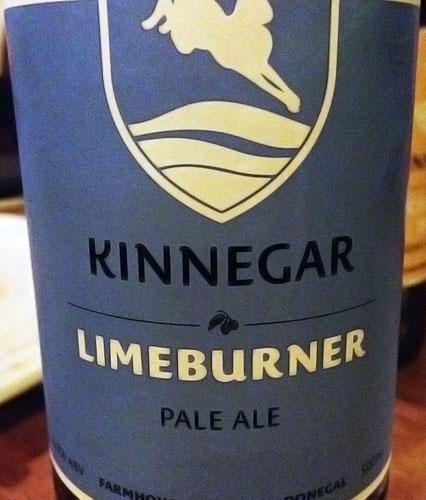 Kinnegar Limeburner Pale Ale Beer in Moville, Ireland