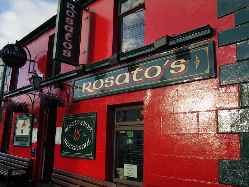 Rosato's bar in Moville, Ireland