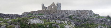Aran Island of Inisheer: the Castle Ruins