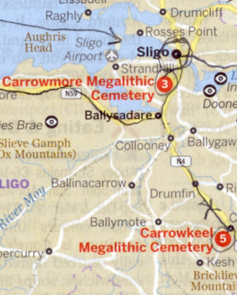 September 28: Tombs around Sligo, Ireland