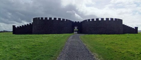 Downhill Demesne ruins in Ireland, UK