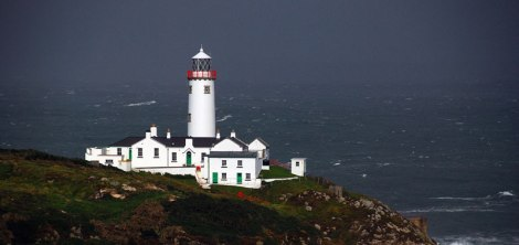 The lighthouse on Fanad Head, Ireland